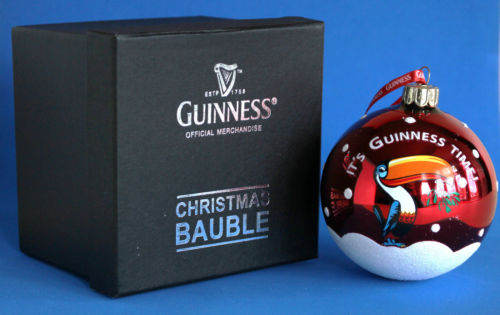 Guinness Toucan Christmas Ornament