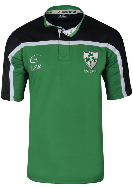 Shamrock Ireland Breathable Rugby Jersey