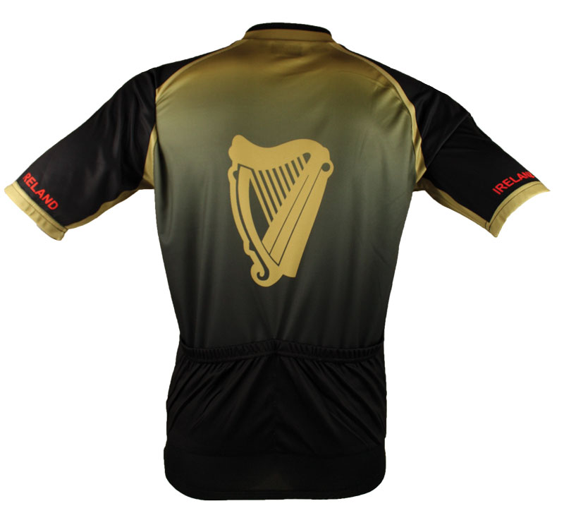 "Ireland ""Limited Edition"" Photo of the Back of Cycling Jersey"
