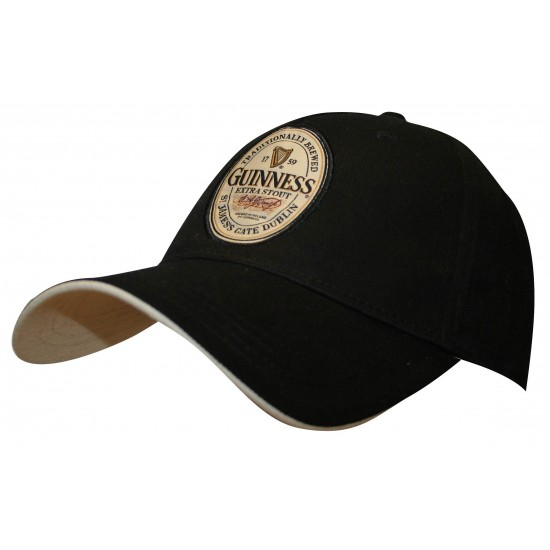 Guinness Label Flex Fit Fit Hat