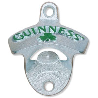 "Guinness ""Shamrock"" Wall Mount Opener"
