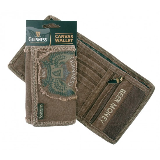 Guinness Wings Canvas Wallet
