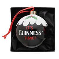 It's Guinness Time Christmas Ornament