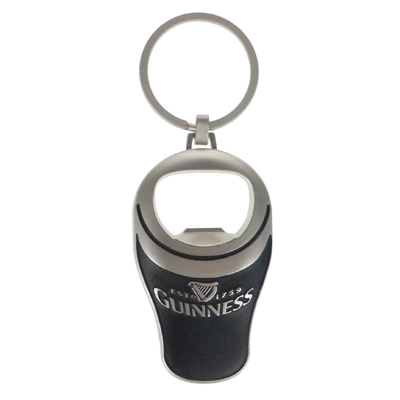 Guinness Pint Key Ring Bottle Opener