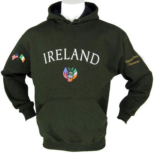 "Ancient Order of Hibernians ""Ireland"" Hoody"