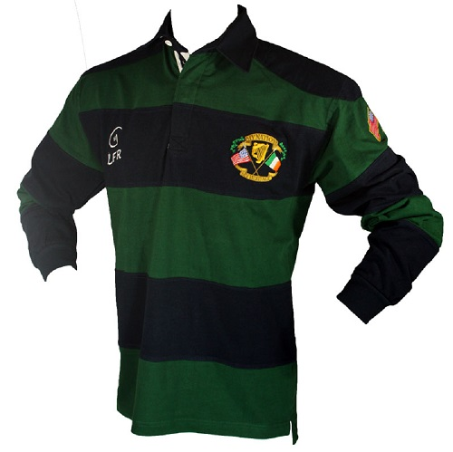 "Longsleeve Ireland ""My Nation My Heritage"" Rugby Jersey"