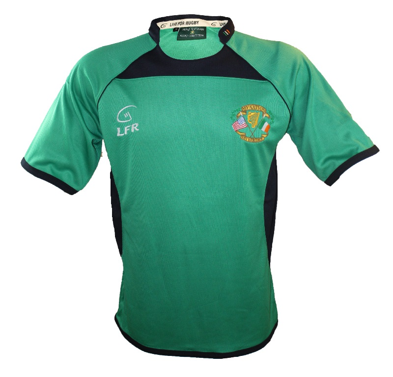 My Nation My Heritage Short Sleeve Performance Rugby Jersey