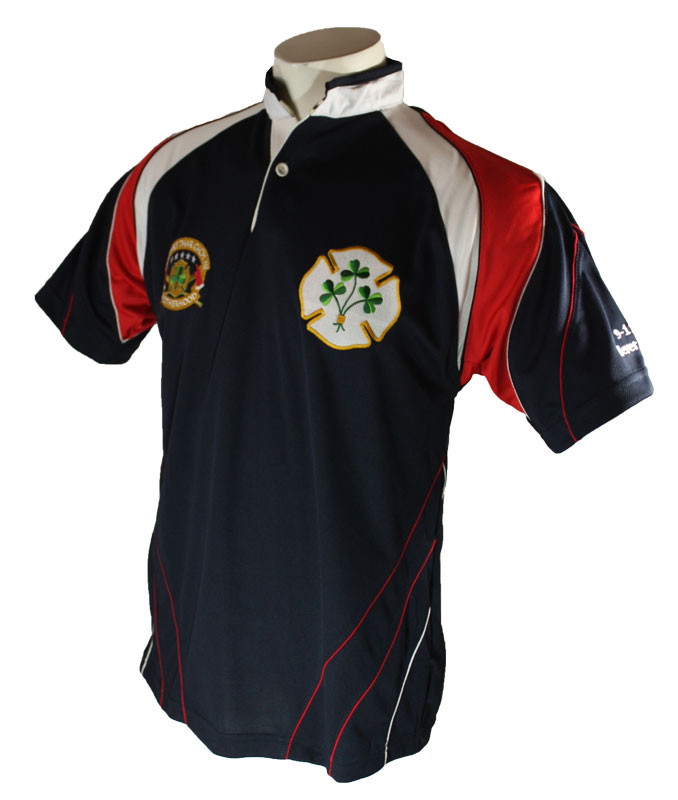 Irish American Firefighter Rugby Jersey(Avail in XXXXL)