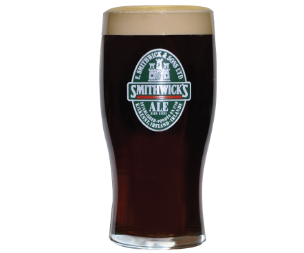 Smithwick's Tulip Pint Glass