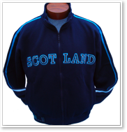 SCOTLAND Retro Zip Jacket