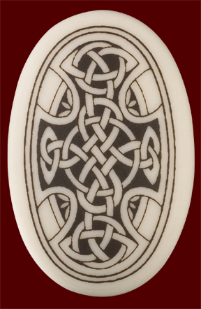 Celtic Cross(Oval) Pendant