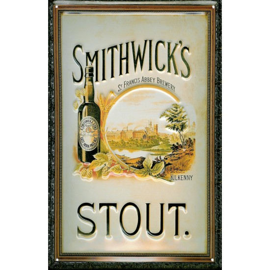 Smithwicks Metal Pub Sign