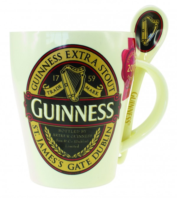 Guinness Classic Mug and Spoon Set