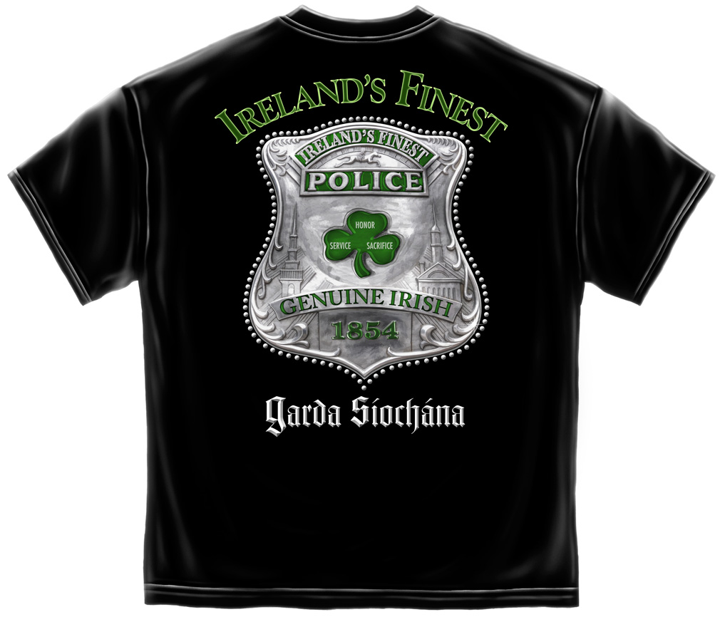 "Irish ""Garda"" Police T Shirt"