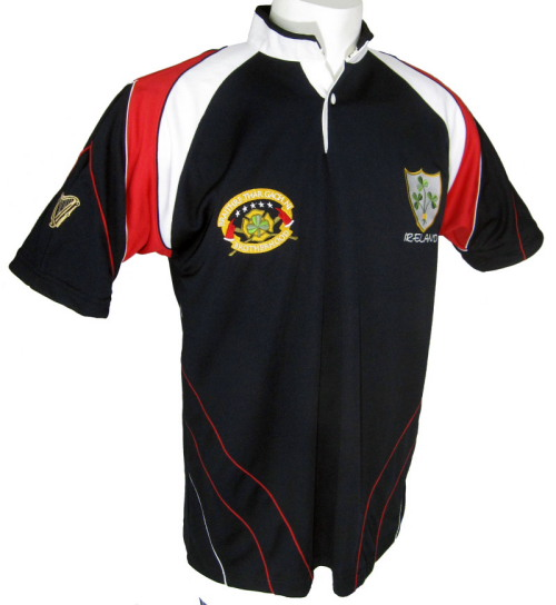 Kid's Irish American Firefighter Rugby Jersey