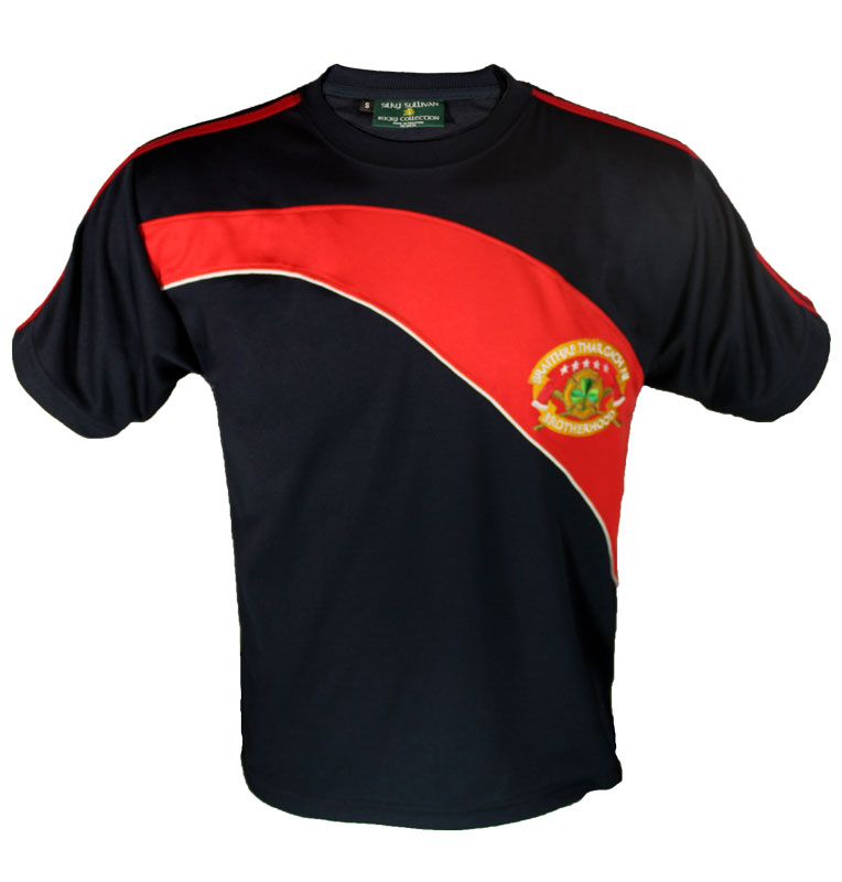 Irish American Firefighter Soccer Jersey