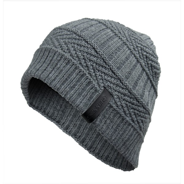 Guinness Light Grey Woven Beanie Hat