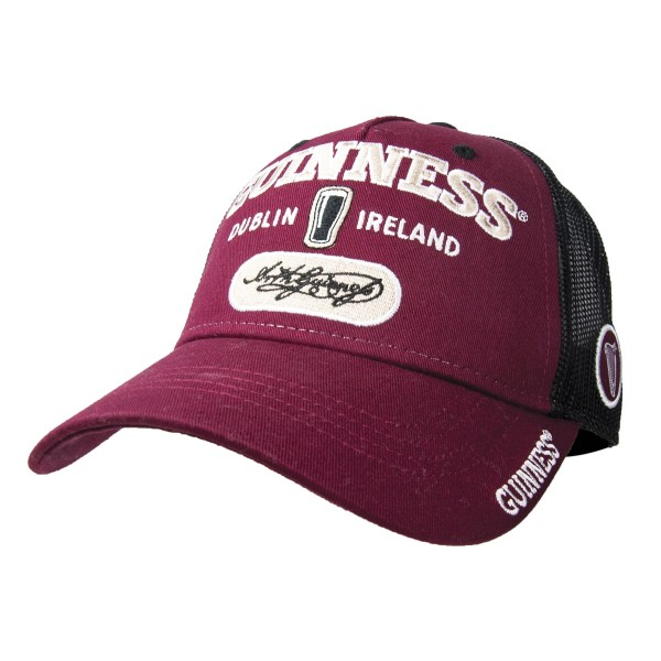 Guinness Burgundy Signature Baseball Cap