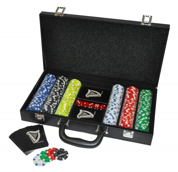 Guinness Poker Set