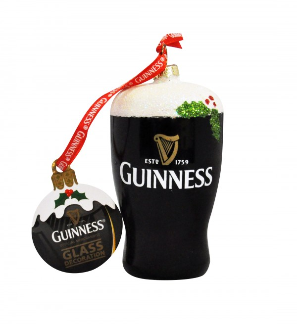 Guinness Pint Glass Decoration
