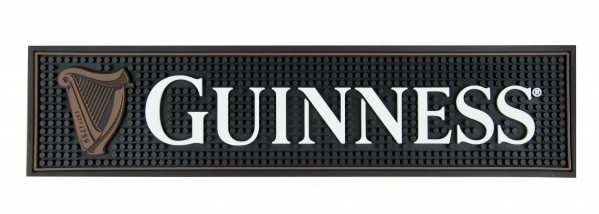 "Guinness ""Harp"" Rubber Bar Mat"