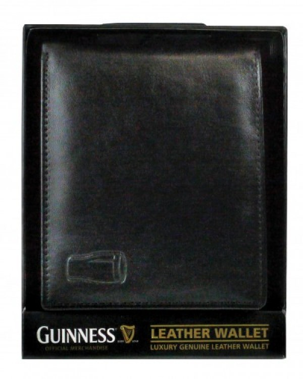 Guinness Classic Leather Wallet