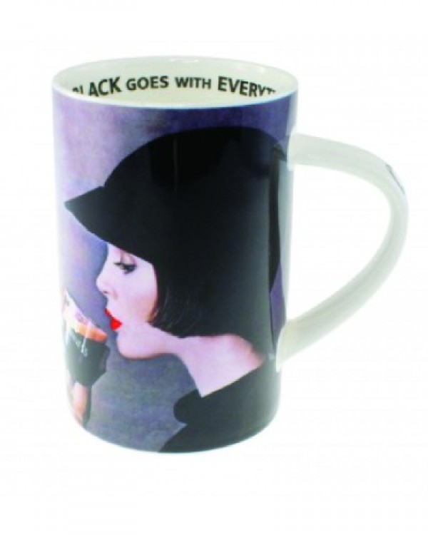 Guinness Girl Fine Bone China Mug