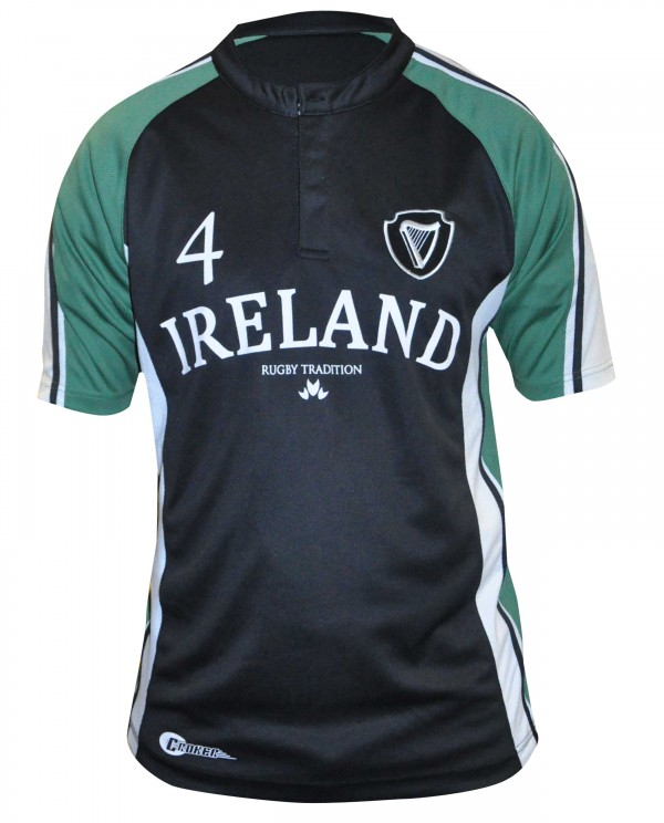 Ireland Navy Performance Rugby Jersey