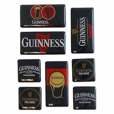 GUINNESS 8 Piece Magnet Set