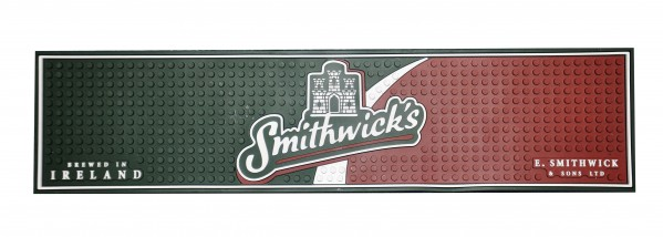 Smithwicks PVC Label Bar Mat
