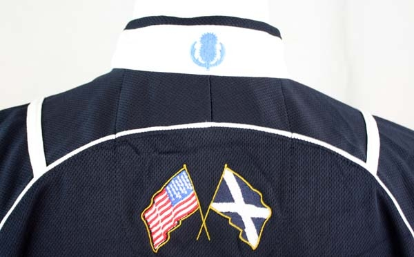 "Scotland ""Tartan Terror"" Back of Jersey"